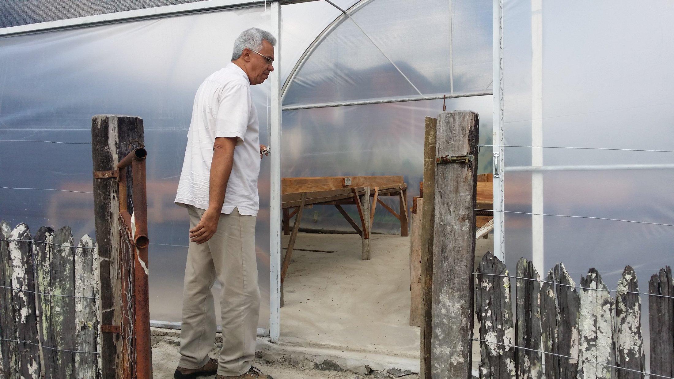 """Henrique de Almeida - """"estoufa"""" de la fazenda Sagarana"""