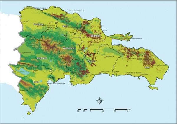 cacao: zones en brun  (web: http://rizekcacao.com/cacao/)